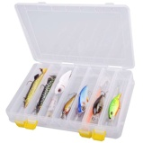 "Afbeelding vanSpro Hard Baits Box ""L"" (27x17,5x4,5cm) Roofvis tacklebox"