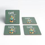 Bild avCafe Du Cycliste Coaster Set