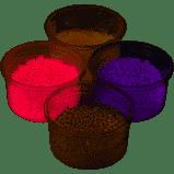 Afbeelding vanPearl Clay 3 x 24 G White/Purple/Pink (78715)