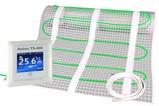 Afbeelding vanElektrische vloerverwarming 100W 1m2 + Helios TS 400 klokthermostaat