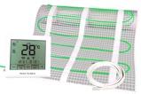 Afbeelding vanElektrische vloerverwarming 100W 1m2 + Hestia TS 200 klokthermostaat
