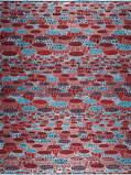Imagen deVlisco VL00001.270.02 African print fabric Classic Revival Decorative
