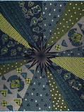 Abbildung vonVlisco VL00768.109.04 Blue African print fabric Limited Editions Decorative