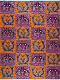 Abbildung vonVlisco VL00770.099.04 Orange/Pink/Silver African print fabric Limited Editions Nature