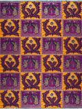 Abbildung vonVlisco VL00770.105.04 Orange/Pink/Gold African print fabric Limited Editions Nature