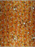 Abbildung vonVlisco VL00954.158.02 Orange African print fabric Classic Revival Decorative