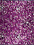 Abbildung vonVlisco VL00954.159.02 Purple African print fabric Classic Revival Decorative