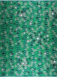 Abbildung vonVlisco VL00954.161.02 Green African print fabric Classic Revival Decorative