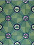 Imagen deVlisco VL00966.017.02 Green African print fabric Limited Editions Nature