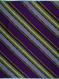 Imagen deVlisco VL02439.003.06 Purple African print fabric Wax Hollandais Geometrical