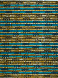 Imagen deVlisco VL02719.011.04 Blue/Brown African print fabric Wax Hollandais Geometrical