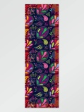 Bilde avVlisco Scarf flower darkblue 65x198cm Pink/Purple/Red African print fabric Accessories Nature