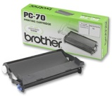 Bilde avBrother PC70 printkassett med fargebånd 140 sider Original