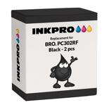 Bilde avBrother PC302RF 2 stk. fargebånd 2 x 250 sider Erstatter