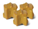 Billede af108R00725 gul fast blæk (3 stk) kompatibel til Xerox Phaser 8560