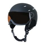 Imagem deBrunotti Men and Women snow helmets Wakefield Unisex Black size 54/58