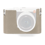 Afbeelding vanLeica 19519 Protector for Q (TYP 116) leather cemento