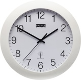 Image ofBalance Time Equilibrium wall clock (Colour: white)