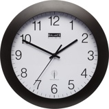 Image ofBalance Time Equilibrium wall clock (Colour: black)