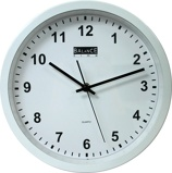 Image ofBalance Time Delta wall clock (Colour: white)