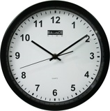 Image ofBalance Time Delta wall clock (Colour: black)