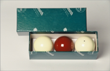 Image ofAramith Carambole balls (Diameter: 3,8 cm)