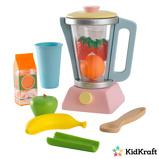 Afbeelding vanKidkraft Houten speelgoed smoothieset pastelkleurige