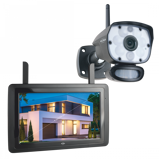 Afbeelding vanELRO CZ60RIPS Wireless Camera Security Set met 9 Monitor & App