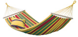 Image ofAmazonas Aruba Spreader Bar Hammock (Colour: magenta/green/yellow)