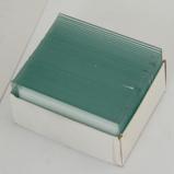 Abbildung vonByomic Dias mit Deckgläsern