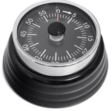 Image ofBalvi Bumpy kitchen timer (Colour: black)