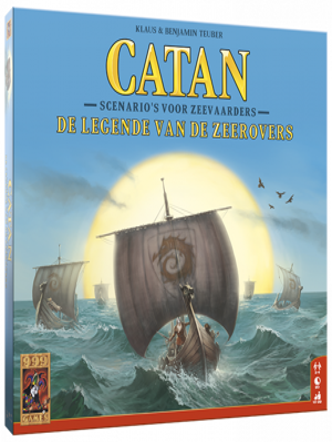 Afbeelding van 999 Games Catan: legende van de zeerovers uitbreidingsspel