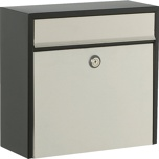 Image ofAllux 250 mailbox (Colour: black/silver)