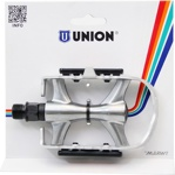 Afbeelding vanUnion Platformpedaal MTB Cross 9/16 Inch zilver per set