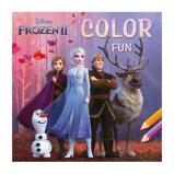Afbeelding vanBlue Lagoon Disney Frozen 2 Kleurboek