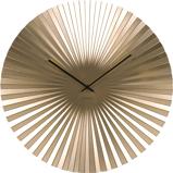 Afbeelding vanKarlsson wandklok Sensu XL steel (Kleur: goud)