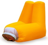 Image ofBalvi Cloud inflatable chair (Colour: orange)