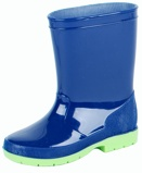 ObrázekDětské deštové boty Gevavi Luca (Barva: modrá/zelená)