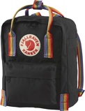 Image ofFjallraven Kånken Rainbow Mini (Main colour: Rainbow Pattern/Black)