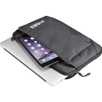 """Afbeelding van Laptophoes Thule Subterra MacBook Air Sleeve 11"""" Dark Shadow"""