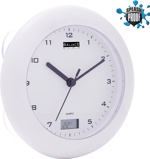 Image ofBalance Time Bathroom clock with thermometer