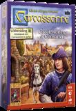 Afbeelding van999 Games spel Carcassonne: Graaf, Koning en Consorten