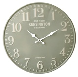 Image ofBalance Time Lightgreen wall clock