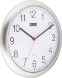 Image ofBalance Time Classico wall clock (Colour: silver)
