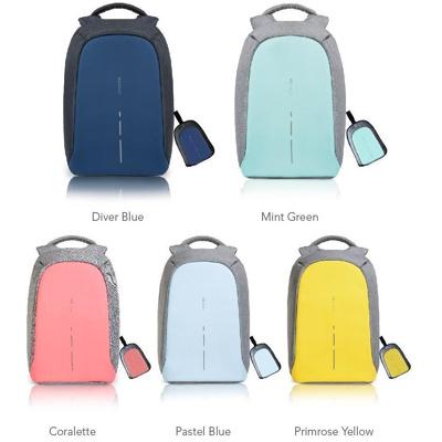 Afbeelding van XD Design Bobby Compact Anti-diefstal rugzak (Basiskleur: lichtblauw)
