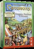 Afbeelding van999 Games Carcassonne: bruggen, burchten en bazaars Uitbreidingsspel