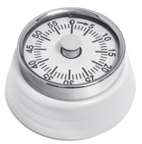Image ofBalvi Bumpy kitchen timer (Colour: white)