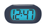 Image ofBalance Time LCD quartz alarm clock (Colour: blue)