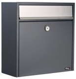 Image ofAllux 250 mailbox (Colour: silver/anthracite)