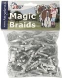 Imagen deBandas de goma Harry's Horse Magic Braids (Color: plata)
